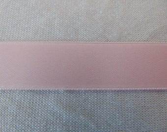 Pink double faced satin ribbon, (S-0004)