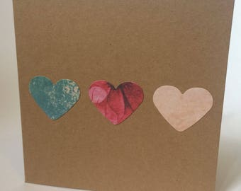Love Heart Greeting Card