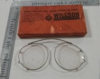 10%OFF3DAYSALE Vintage used willson safety glasses