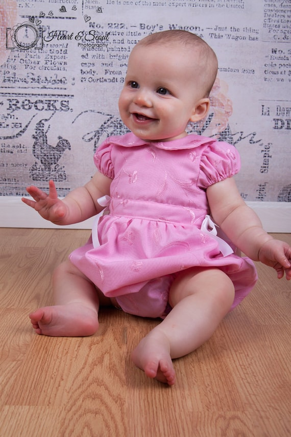 Vintage Baby Romper Pattern Baby And Matching Doll Pdf