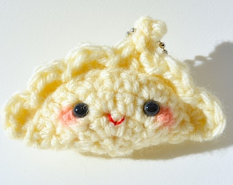 Cute Gyoza Dumpling by berrysweettreats on Etsy
