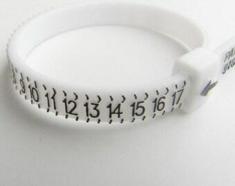 Multisizer ring sizing gauge up to size 17