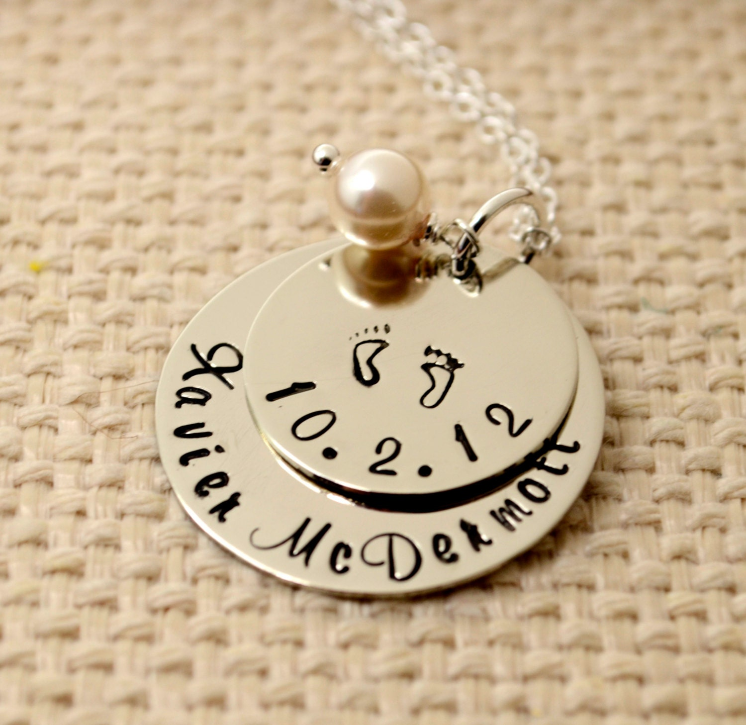 always personalized jewelry once mom shop hand custom necklace preemie mothers tiny strong jewellery stamped power