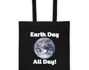 Earth Day All Day! Tote bag For groceries instead of plastic
