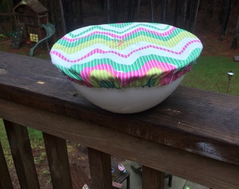 Monogrammed Bowl Covers