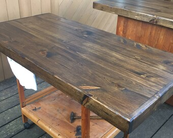 Beautiful Rustic Table Top