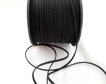 Suede or Black Suede cord.