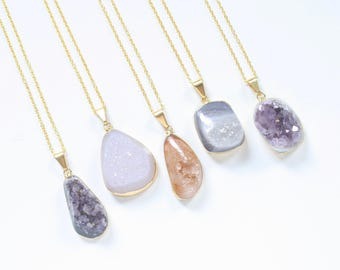 modern natural supply stone hello product necklace element jewelry pendant
