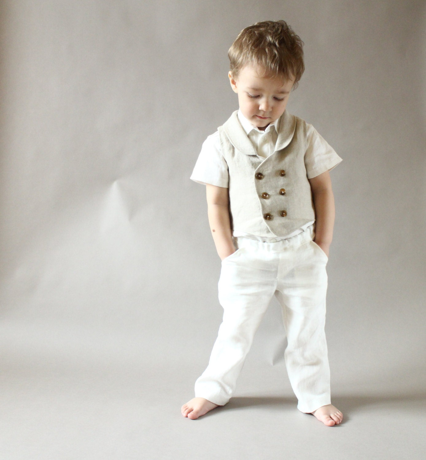 Baby Boy Pants Baby Boy Clothes Toddler Boys Linen Pants Baby