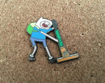 Adventure Time Finn and Jake Hat Pin