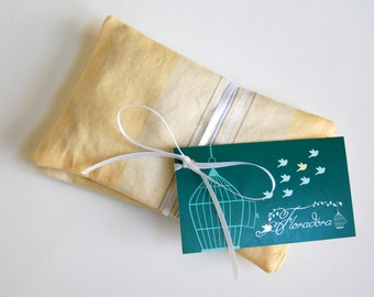 Buttercream Organic Lavender Sachets - fragrance drawer sachets - organic aromatherapy non toxic spring cleaning - French lavender gifts