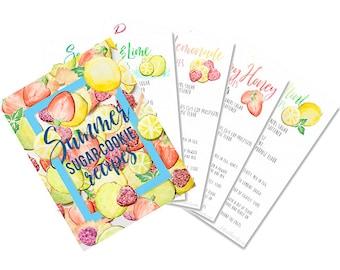 Summer Sugar Cookie Recipes