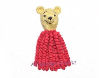 Winnie the Pooh Crochet octopus Preemie octopus Baby octopus Custom baby gifts crochet toy crochet Jellyfish baby toy