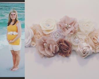 Maternity Sash, Maternity Belt, Sash, Photo Prop, Maternity