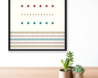 Colorful Playful Wall Art