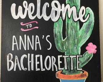 Custom Bachelorette Party Sign