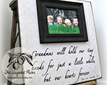 Picture Frame Gift for Grandma 16x16 The Sugared Plums Frames