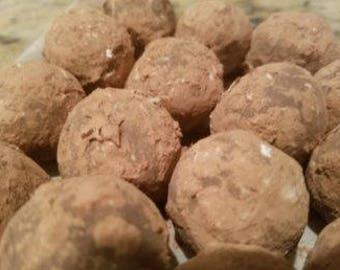 Orange Flavored Chocolate Truffles