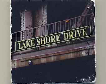 Lake Shore Drive Bridge -  Original Coaster
