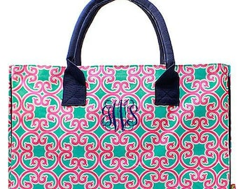 Monogrammed Ivy Swirl Bag Personalized Ivy Swirl Bag Personalized Ivy Swirl Large Utility Tote Bag Large Beach Bag Large Diaper Bag
