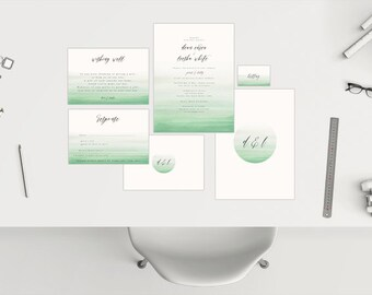 Wedding Package // Watercolour 03