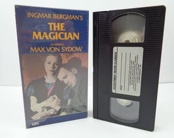 The Magician VHS Tape Max Von Sydow