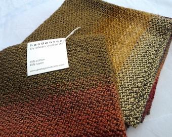 Handwoven Cloth Napkins - set of four