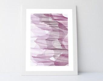 Purple wall art, purple print, printable art, purple abstract, contemporary print, modern wall art,abstract printable, silk wall art, purple