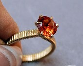 Wire Wrap a Prong Ring an...