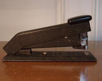 Vintage 1930's/1940's  Black Bostitch Stapler