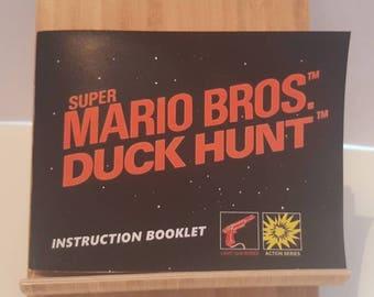 NES Super Mario Bros / Duck Hunt -  Replacement Manual