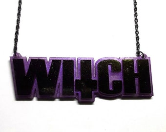 Inverted Cross Witch Necklace