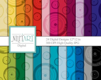 Digital papers, scrapbook papers, background DP 071