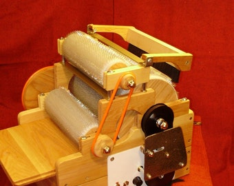 SCP Gold Series  Standard Triple Wool Drum Electric Carder 72/90/90 TPI
