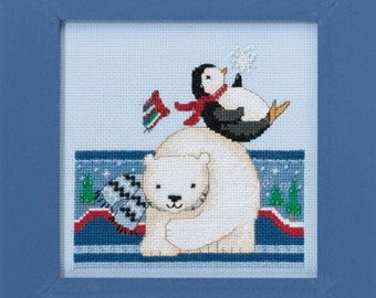 Mill Hill Polar Opposites Polar Play DM30-1711 Counted Cross Stitch Kit