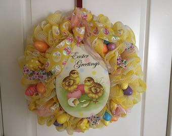 Easter chicks greetings