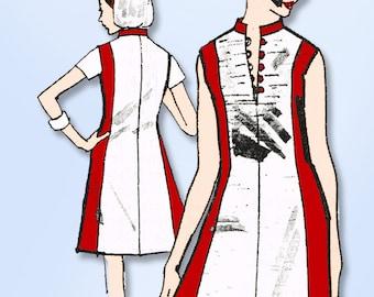 1960s Vintage Spadea Designer Pattern N-1016 Uncut Harvey Berin Mod Dress Sz 33B