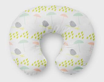 New mother gift - Nursing pillow Cover - Boppy Cover Girl - New baby gift girl - Baby lounger cover - New mom gift - Organic Boppy Cover