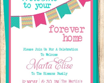 Adoption Shower Invitations Etsy