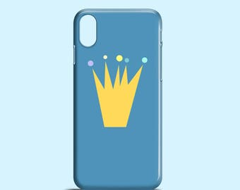 Fit for the Prince phone case / iPhone X, iPhone 8, Crown iPhone 7, blue 7 Plus, iPhone 6, iPhone 6S, Samsung Galaxy S7, Galaxy S6, S5