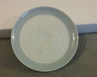 """Genuine Lladro 4"""" Diameter Butter Pat Plate, Perfect Condition"""