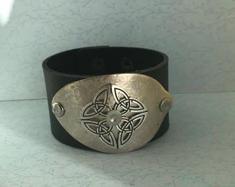 Celtic spoon cuff