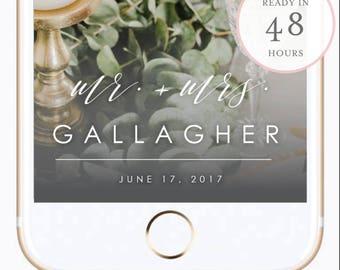 Wedding Snapchat Filter. Wedding Snapchat GeoFilter. Custom Snapchat Filter. Custom GeoFilter. Snapchat GeoFilter. Personalized Filter. (SH)