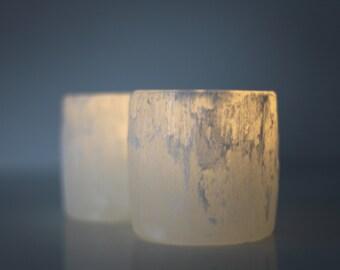Pair of 2 Selenite Crystal Night Lights, Crystal Nightlights, White Selenite, Raw Selenite, Large Crystal, Selenite Crystals, Healing Light