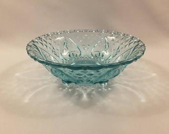 Vintage Aqua Green Bowl/Candy/Trinket/Dish