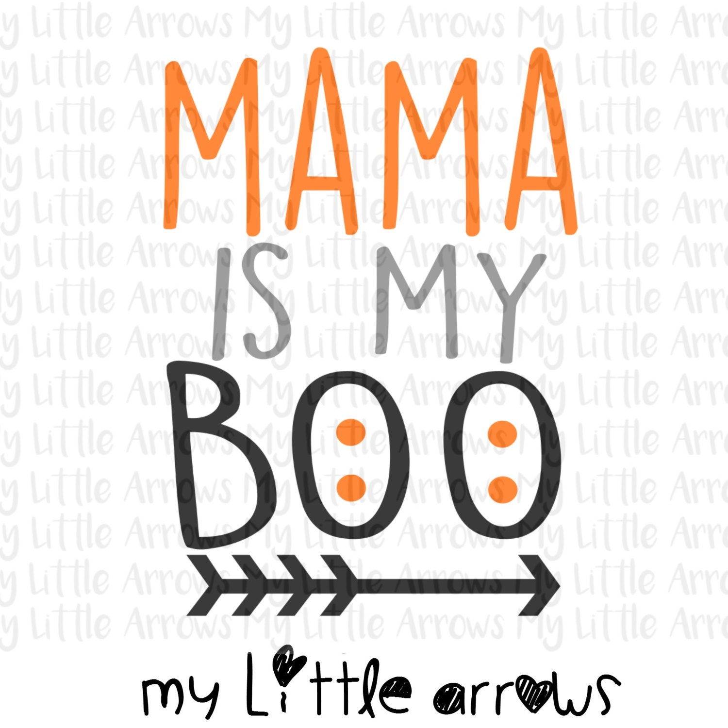 Halloween Mama is my boo SVG DXF EPS png Files for Cutting