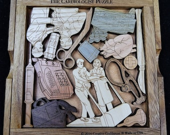 The Cardiologist  Puzzle - Cardiology