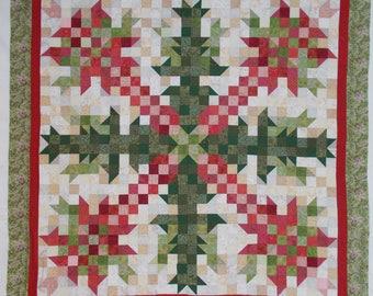 Christmas Cactus Quilt Pattern