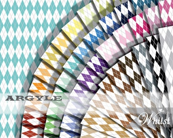 Preppy digital paper argyle scrapbook harlequin style background diamond : b0208k v301