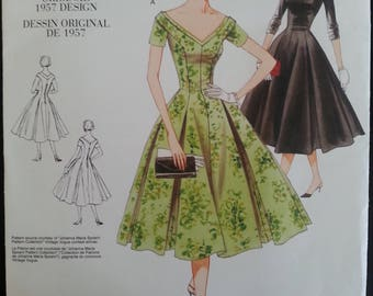 Vogue 2903 - Vintage Model - Original 1957 Design - Misse's Dress - sizes 12-14-16